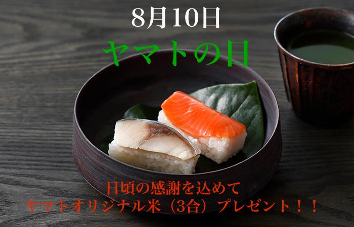不動の人気の鯖と鮭。ハレの日にオススメのごちそう寿司です!